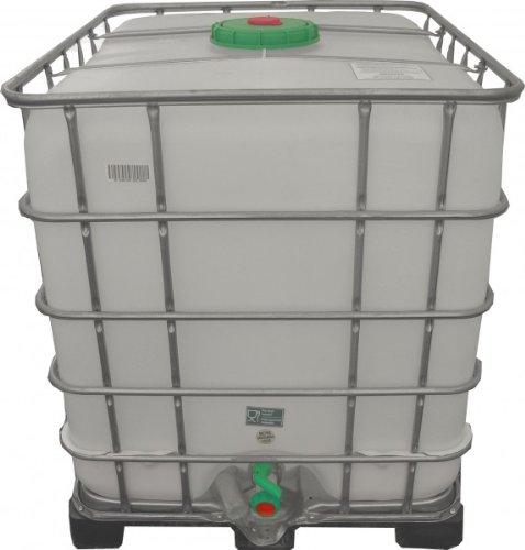 kunststofftank 1000 liter z b regenfass 1 wassertonne kaufen. Black Bedroom Furniture Sets. Home Design Ideas