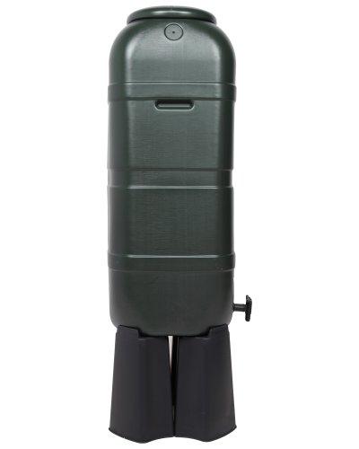 regentonne mit f llautomat 100 liter wassertonne kaufen. Black Bedroom Furniture Sets. Home Design Ideas