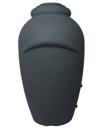 Regenwassertonne Wasserbehälter Amphore Anthrazit 360L -