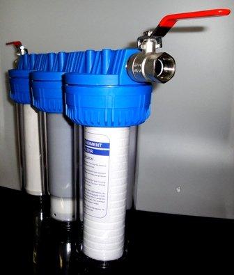 Filteranlage Wasserfilter Trinkwasserfilter Bakterien Keim Brunnenwasser, Regenwasser, Filtertyp: T -