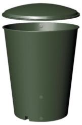 Regentonne, 1000 Liter grün -