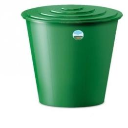 XL Wassertank 210 Liter aus Kunststoff in Grün. Inklusive Wasserhahn (optional zu montieren) und Deckel mit Sicherheitsverschluss! Topp für den Garten! -